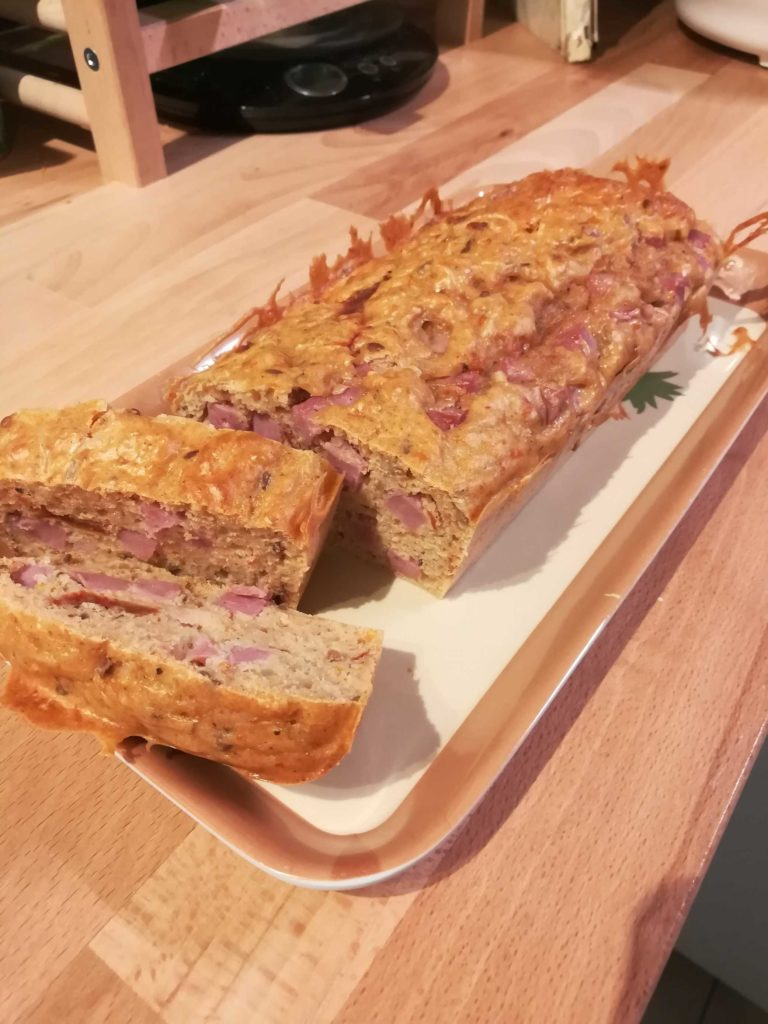recette cake jambon tomate healthy 3