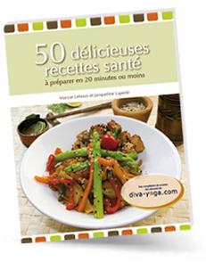 50 délicieuses recettes saines et santé