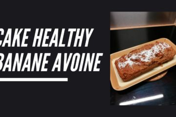 Cake healthy banane avoine