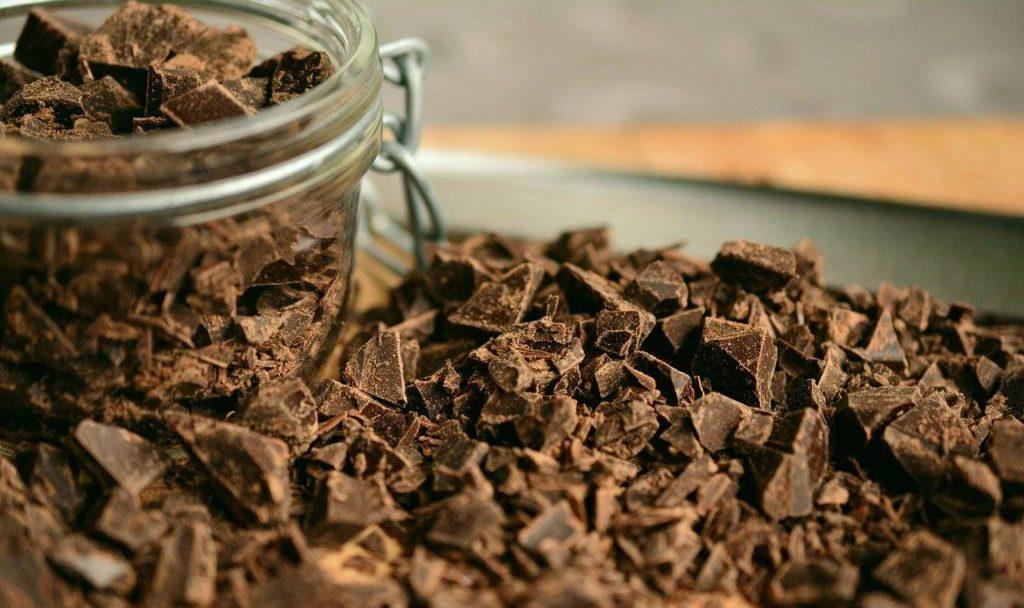 copeaux chocolat noir