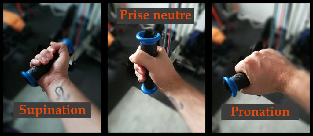 les types de prises pour la musculation