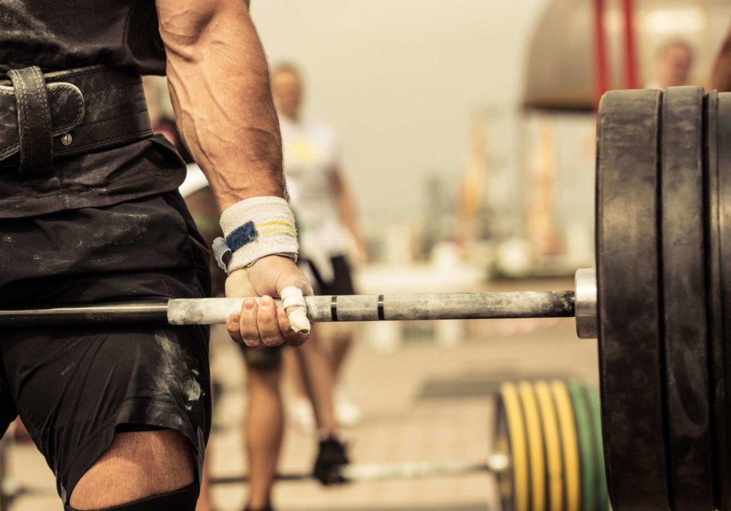 musculation à la barre