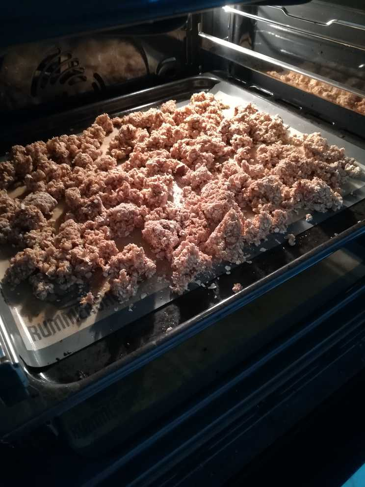 granola protéiné healthy au four