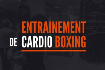 entrainement cardio boxing fitness