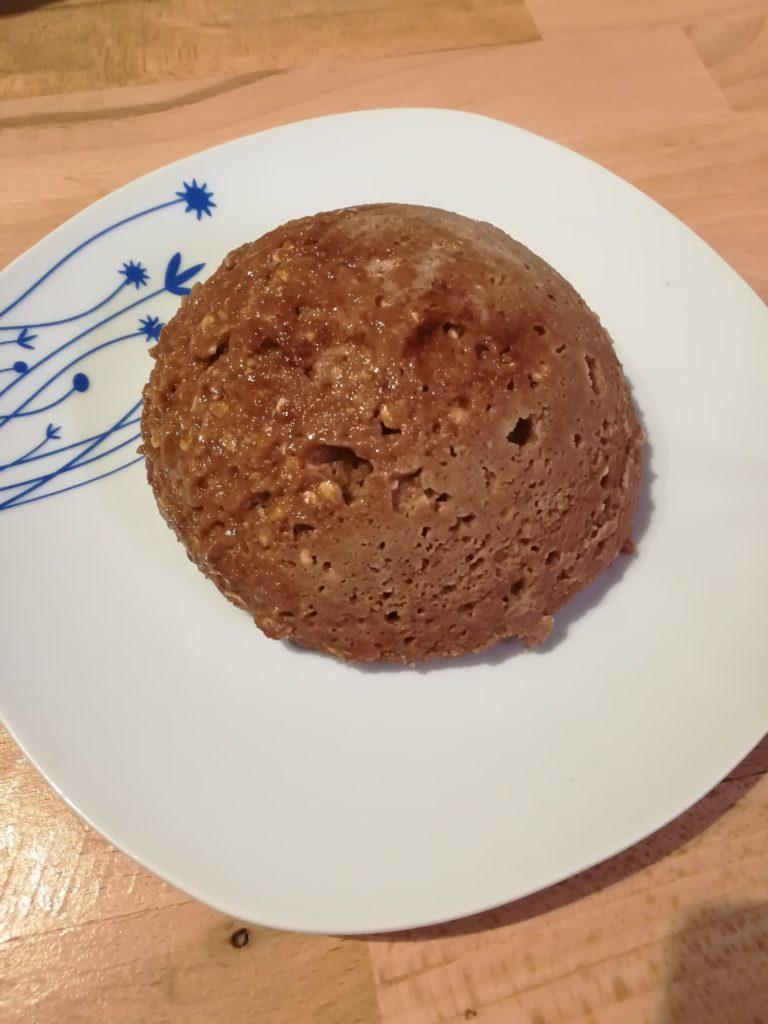 bowl cake chocolat recette proteine healthy