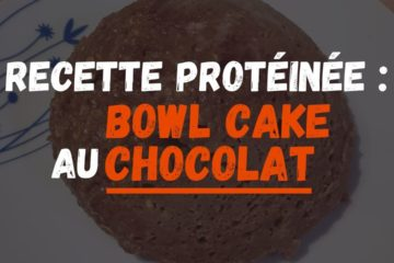 couverture bowl cake chocolat healthy whey recette proteine