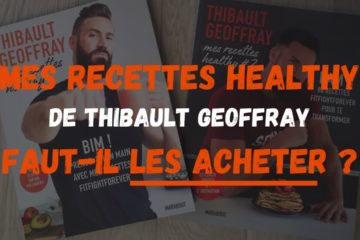 acheter recette healthy thibault geoffray