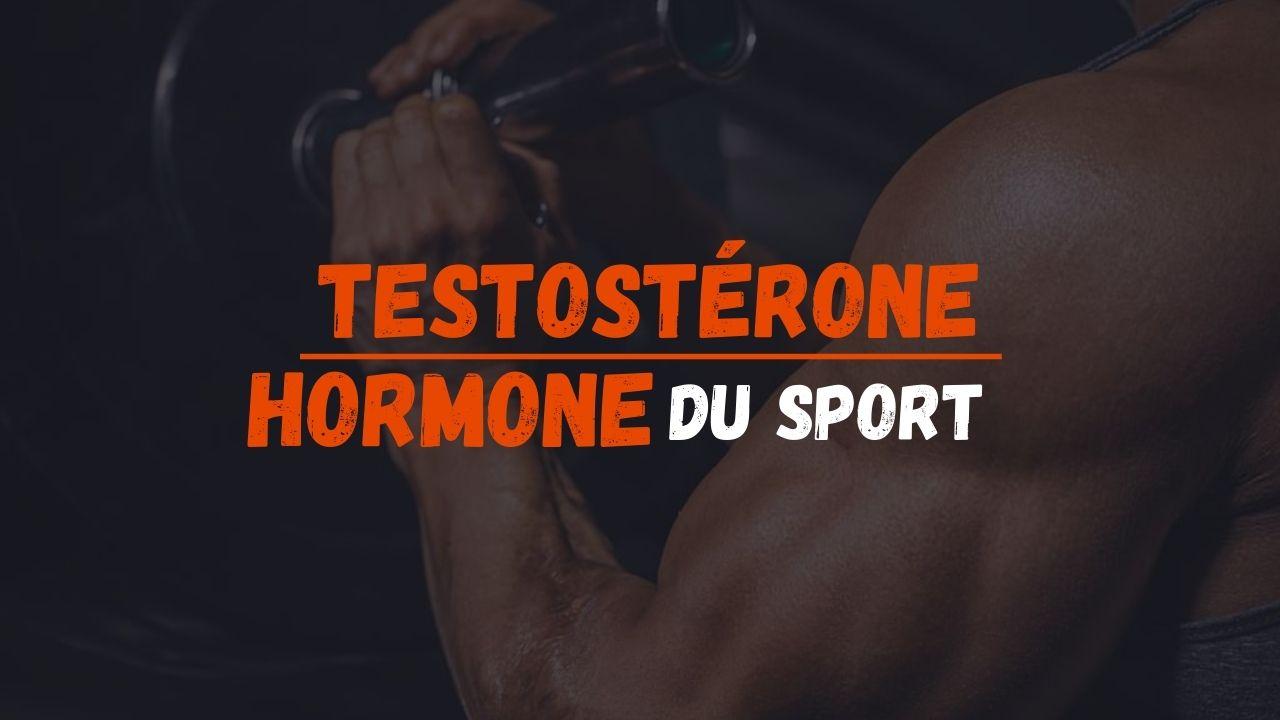 Testostérone hormone sport