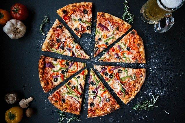 pizza healthy à la poêle